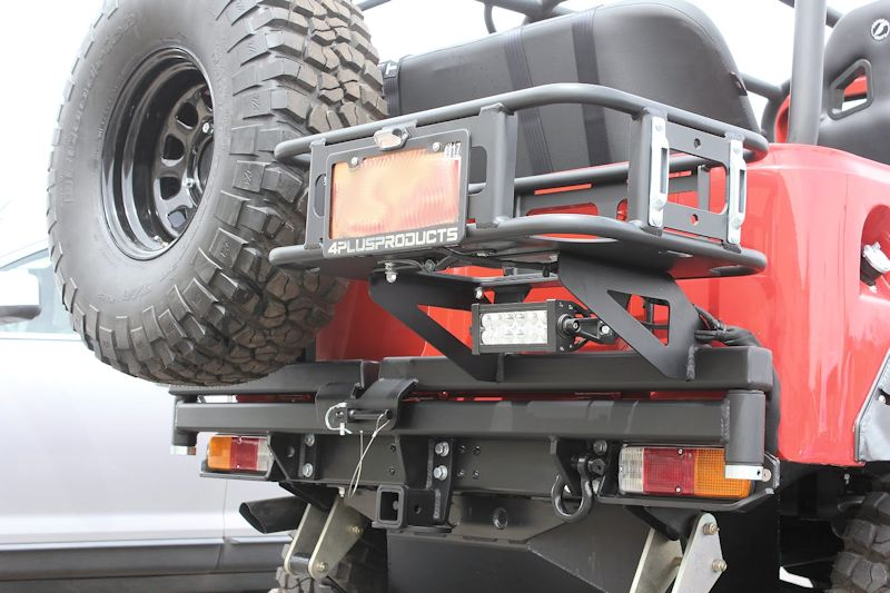 4plusproducts Fj40 Tire Carriers Rear Tow Bumper