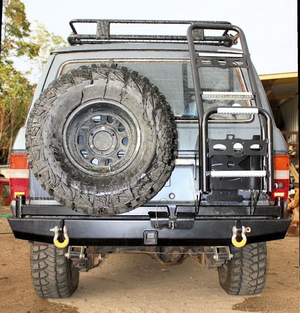 4plusproducts Fj60 Tire Carriers Expedition Rear Bumper