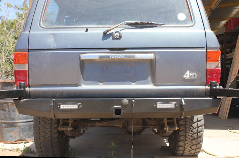 4plusproducts Fj60 Tire Carriers Classic Rear Bumper